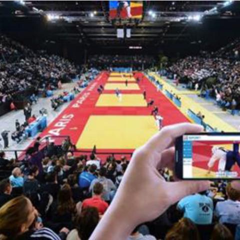 VOGO SPORT to Enhance Fans' Live Experience at Judo Grand Slam Paris 2015