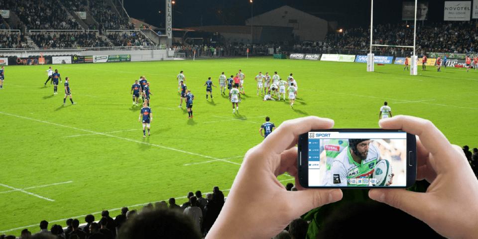 Section Paloise Béarn Pyrénées Rugby Club, TOTAL and VOGO Deploy VOGO SPORT at Stade du Hameau (Pau) – 2015/2016 Season