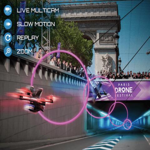 Paris Drone Festival, suivez l'événement autrement avec VOGO SPORT !