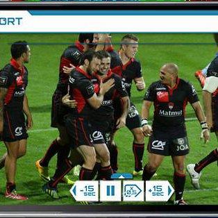 Le Lou Rugby donne accès à la vidéo à ses supporteurs