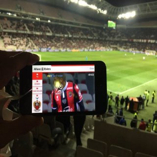 Football ! Une première pour VOGO avec l'Allianz Riviera et l'OGC Nice