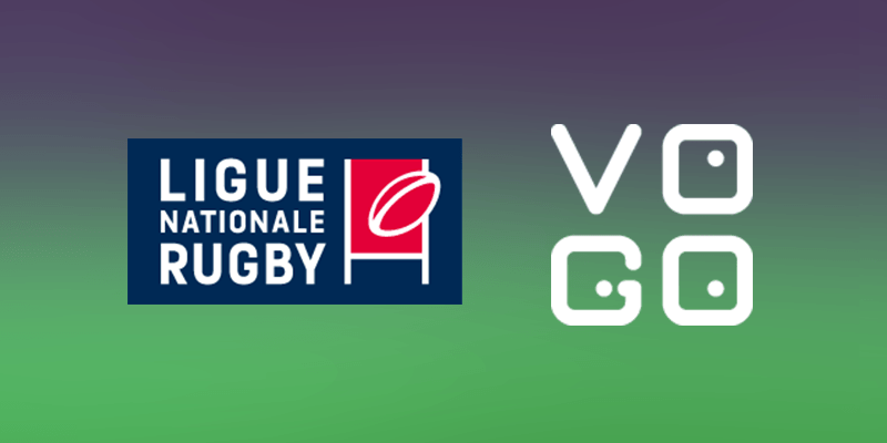 VOGO SPORT with the Rugby National League