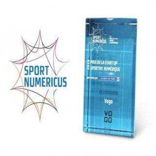 Vogo, gagnant du prix Sport Numericus 2014 de la «Start-up Sportive Numérique»