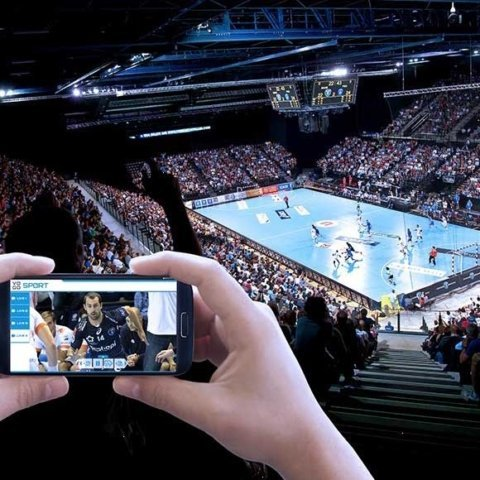 Montpellier Handball Club Enhances Fans'In-stadium experience with VOGO SPORT app.