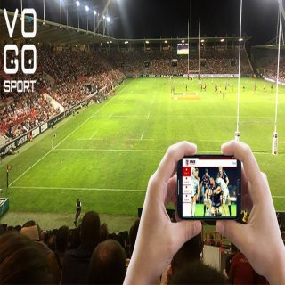 VOGO SPORT au sein de l'application officielle du Stade Toulousain, à compter de la saison 2016-2017