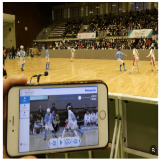 "Panasonic verifies usefulness of its sports spectator solutions at ""BEYOND STADIUM"""