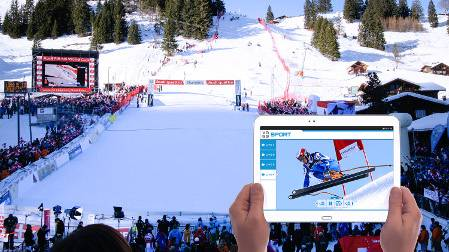 Vogo Takes Alpine Skiing World Cup Mobile