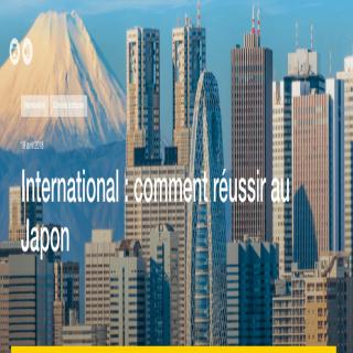 VOGO SPORT cité par BPI France pour sa présence au Japon
