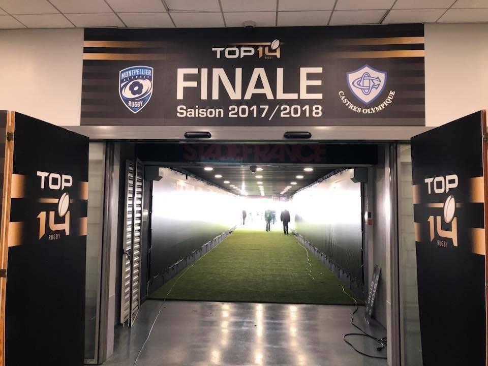 VOGO SPORT clôture la saison rugby en championnats Pro D2 et Top 14