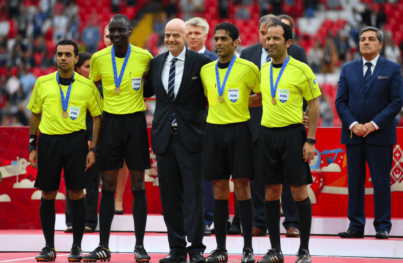 FIFA approves video assistant referees for 2018 World Cup
