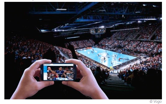 VOGO SPORT au handball