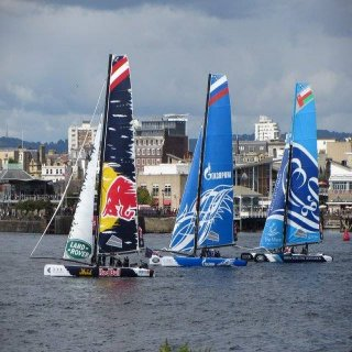Extreme Sailing Series in Barcelona