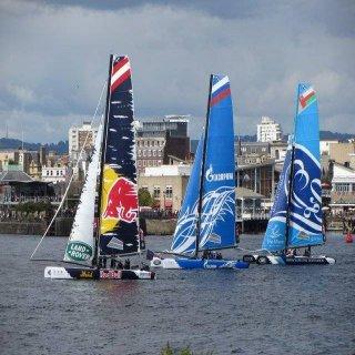 Extreme Sailing Series à Barcelone