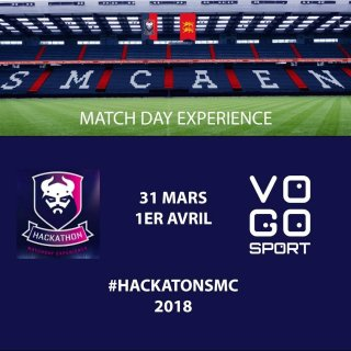 24 hours to showcase the VOGO SPORT project with the French club SM Caen