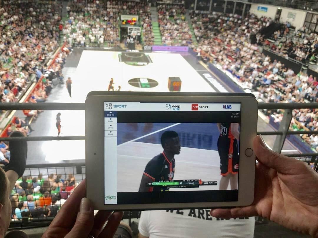 Les spectateurs de l'Astroballe ont découvert une nouvelle expérience digitale