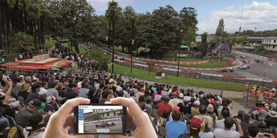 Grand Prix of Pau, the first connected car race in France