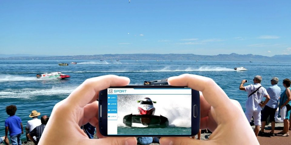 F1H2O Grand Prix of France offers its public the first connected race with VOGO SPORT