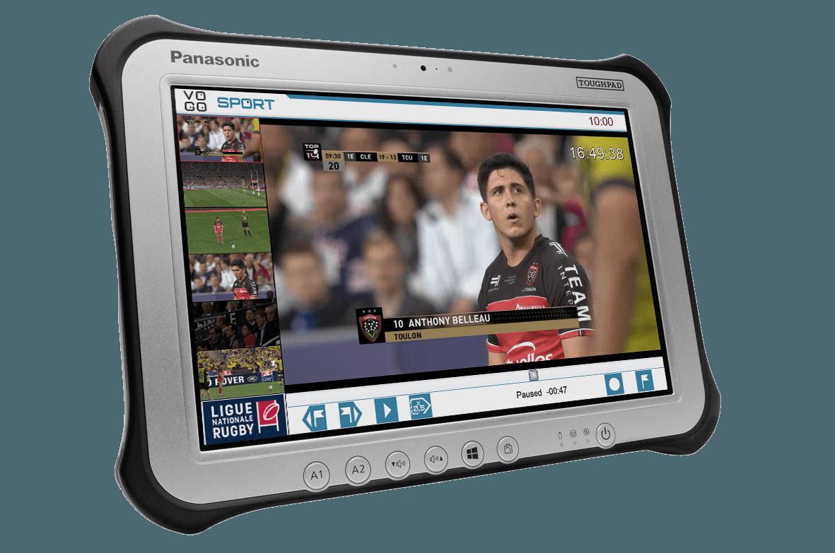 VOGO accède enfin au marché du sport grâce à Panasonic