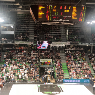 ASVEL Basket club chooses VOGO SPORT