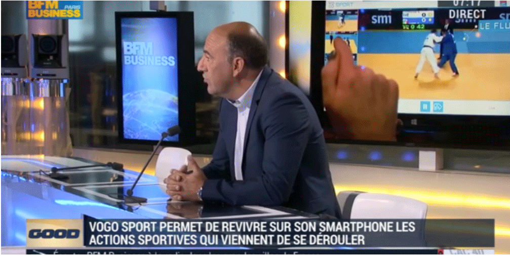 BFM TV Business – Christophe CARNIEL, CEO VOGO
