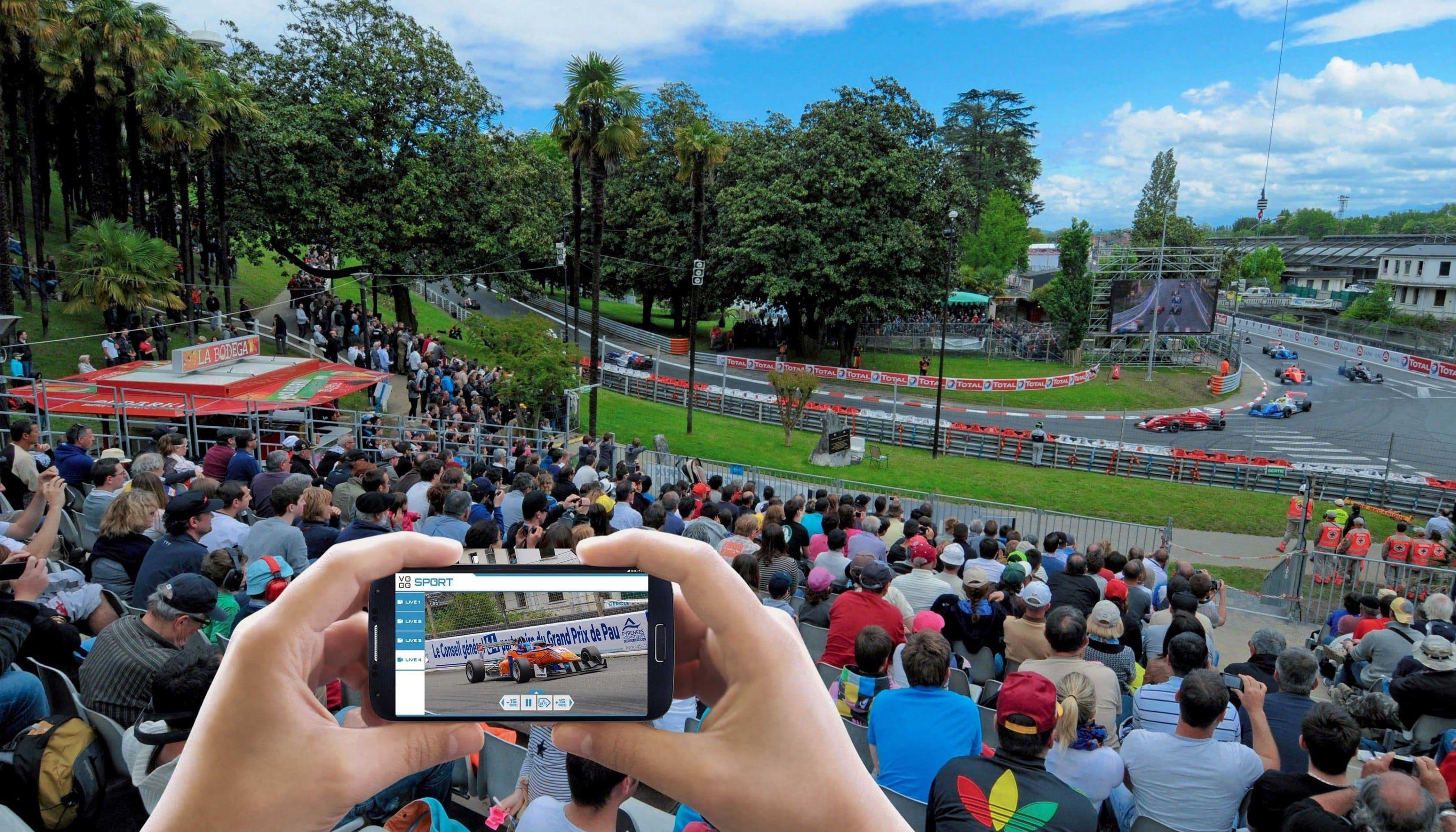 Grand Prix de Pau, la première course automobile connectée en France