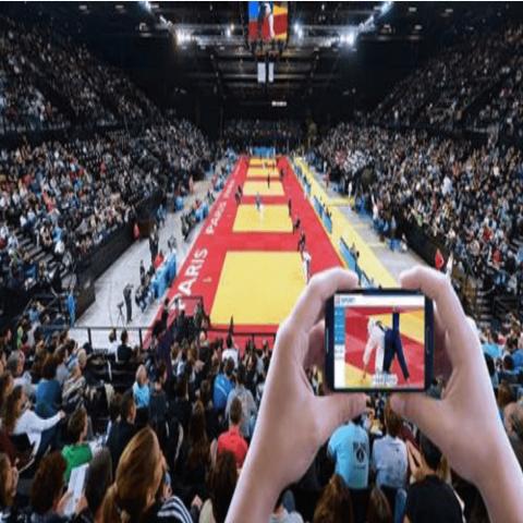 Lancement de l'application VOGO SPORT aux championnats d'Europe de Judo