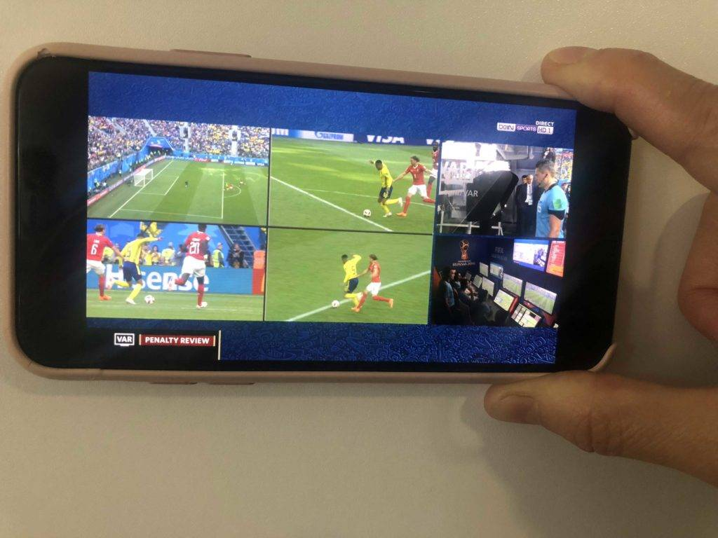Arbitrage vidéo CDM 2018
