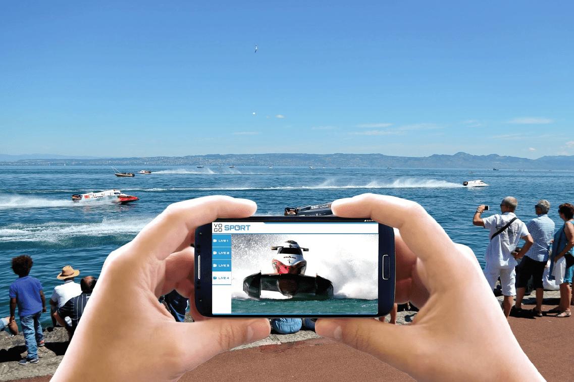 Le Grand Prix de France F1 H2O offre à son public la première course connectée avec VOGO SPORT