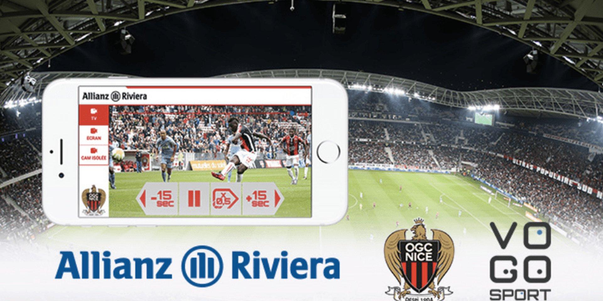 Une première pour VOGO SPORT avec l'Allianz Riviera et L'OGC Nice