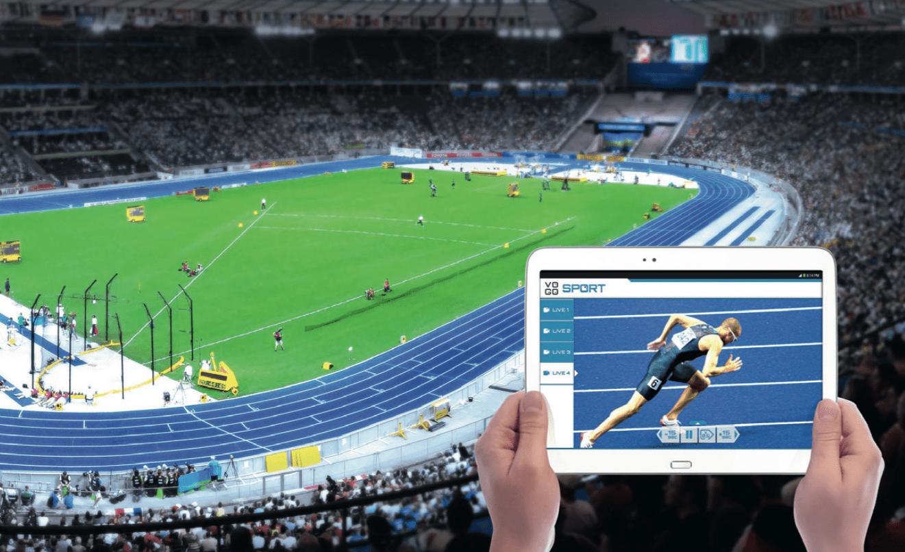 L'application multi-cam de VOGO SPORT surfe sur l'essor du wi-fi dans les enceintes sportives