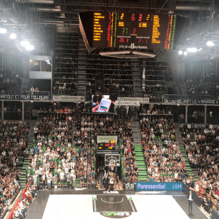 Le club de basketball ASVEL choisit VOGO SPORT