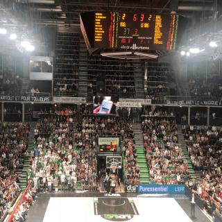 Le club de basketball ASVEL choisit VOGO SPORT