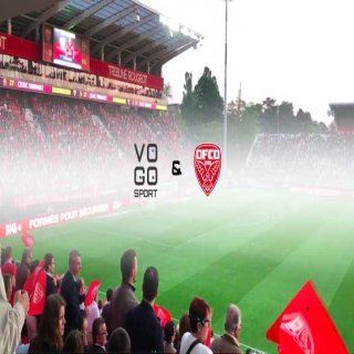 French Football Ligue 1 DFCO club with VOGO SPORT