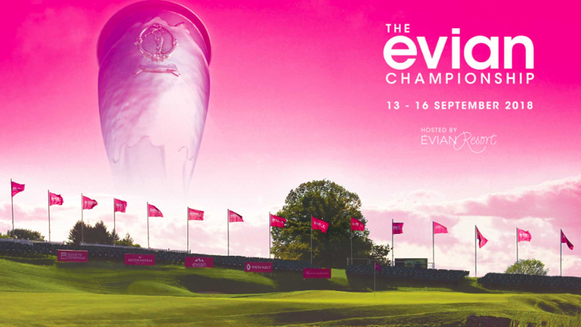 Innovative experiences & lifestyle at the Evian Championship 2018