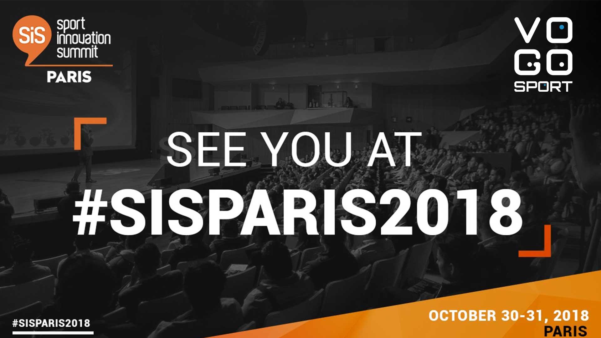 Meet VOGO SPORT at SIS Paris 2018 !