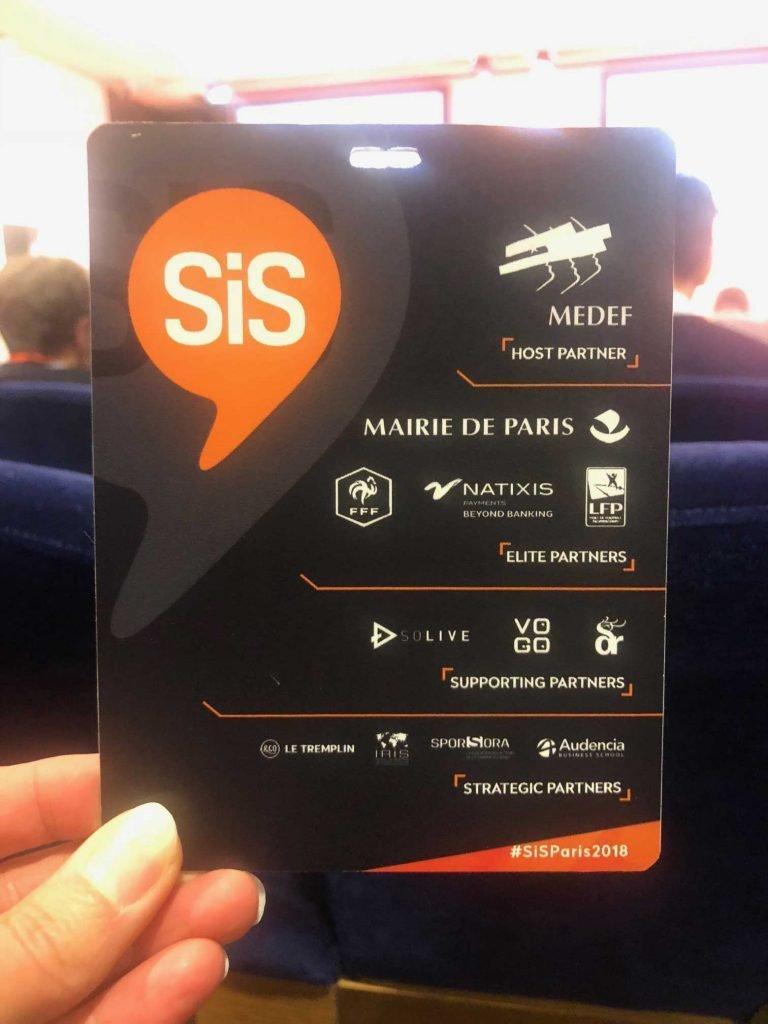 VOGO, Elite partner of SIS Paris 2018