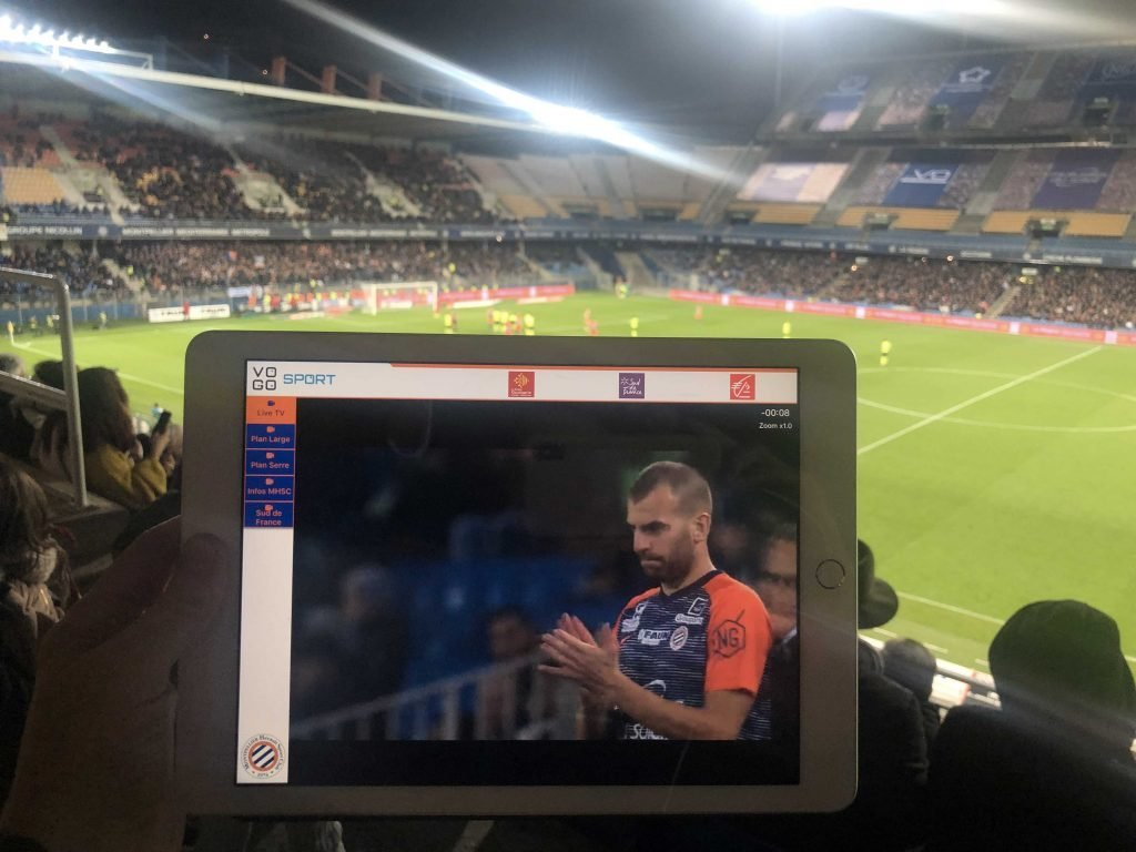 VOGO SPORT app. with MHSC (Montpellier)