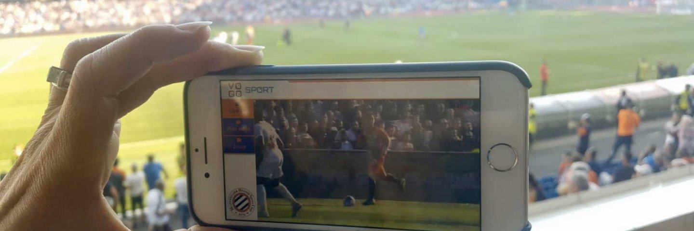 Le Montpellier Hérault Sport Club (MHSC) innove et propose le service de « Live & Replay » VOGO SPORT à ses supporters VIP