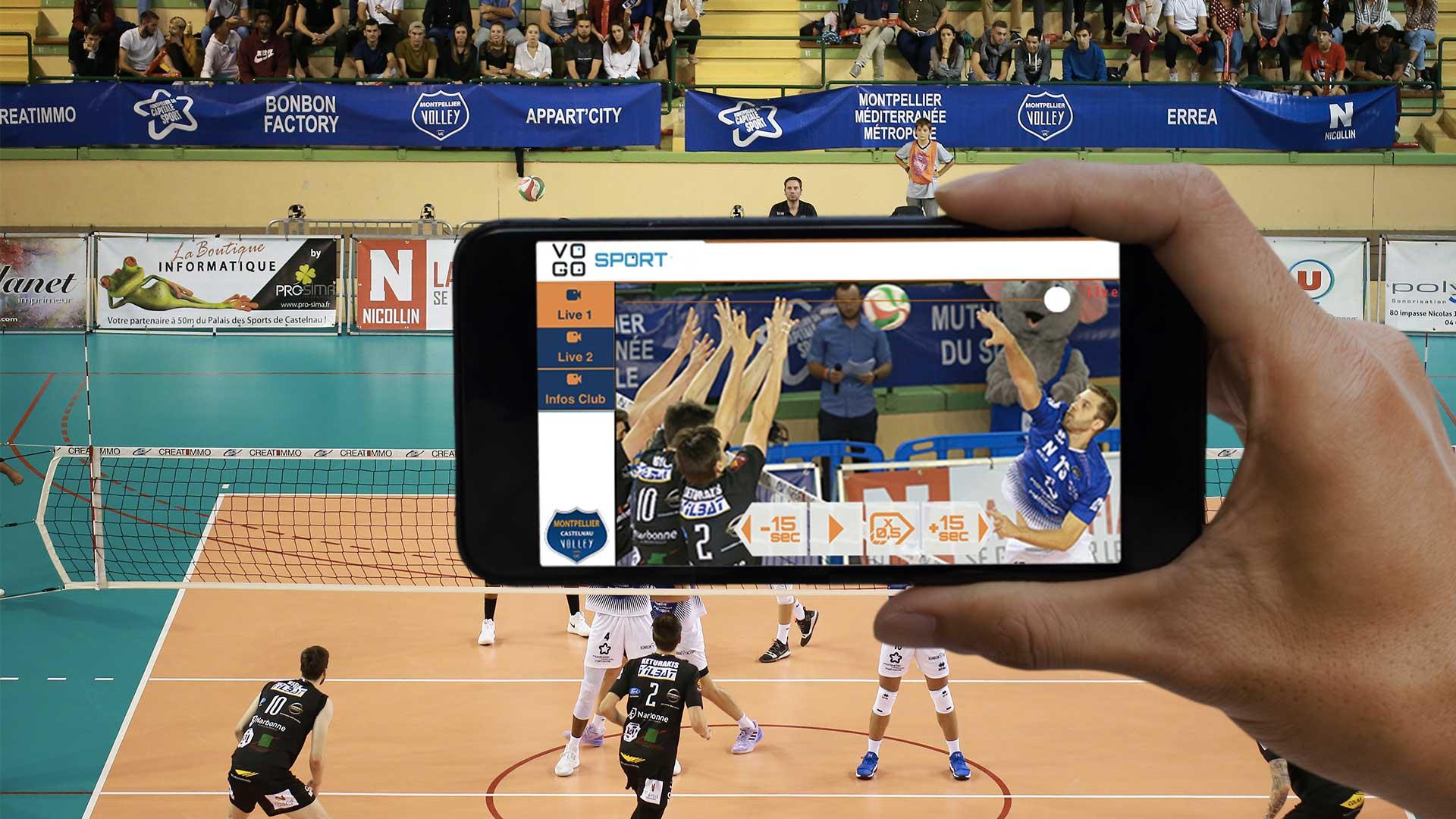 VOGO SPORT pour le Montpellier Castelnau Volley UC