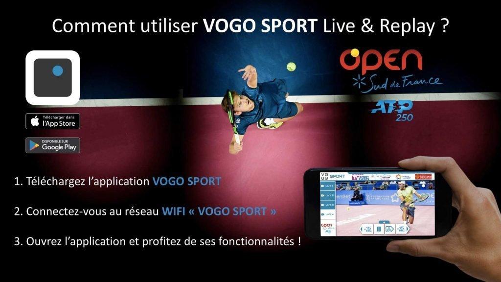 , VOGO à l'Open Sud de France 2019