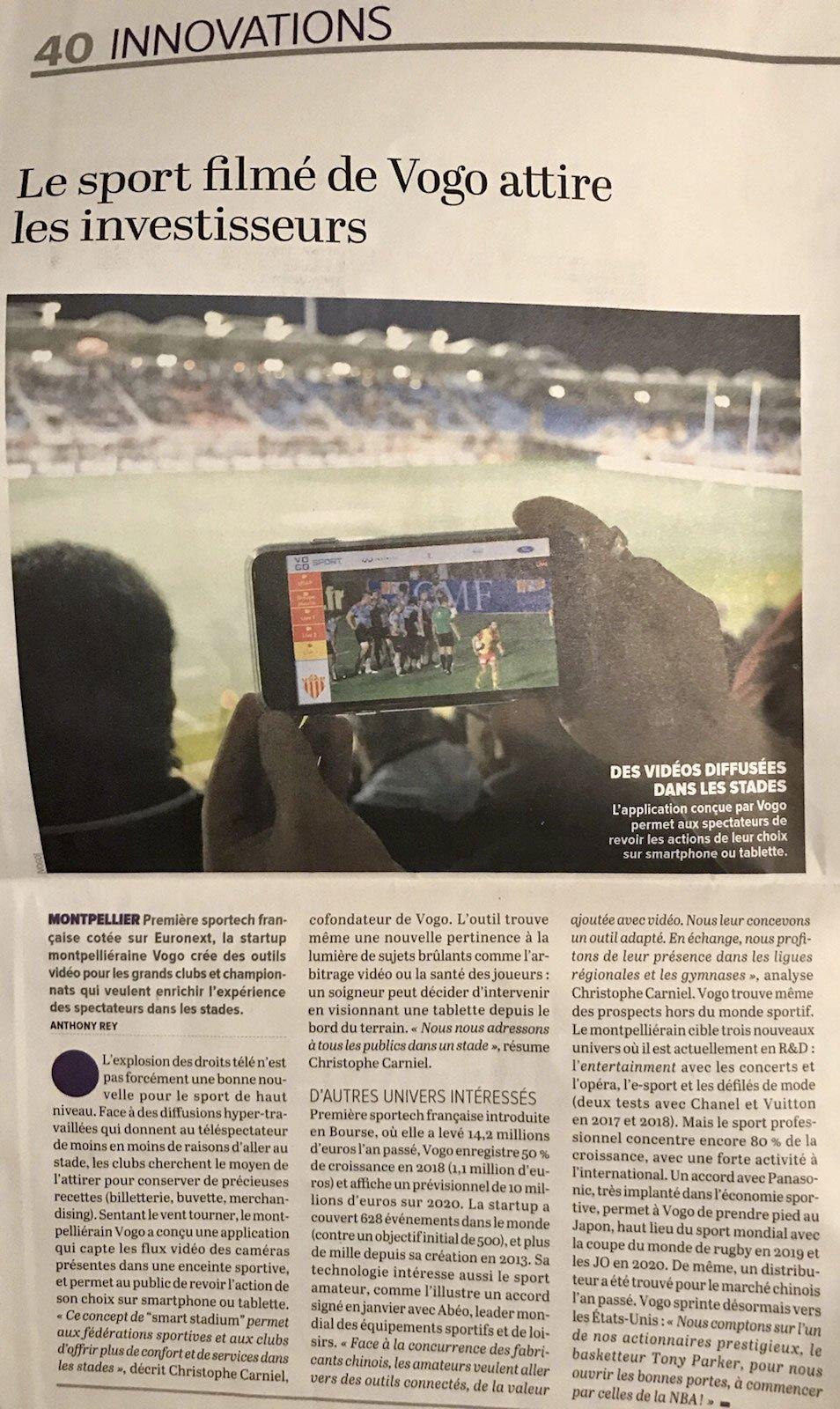 Innovations La Tribune Lundi  février