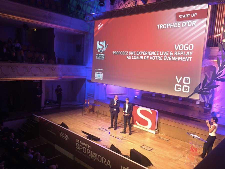 VOGO, vainqueur des Trophées SPORSORA