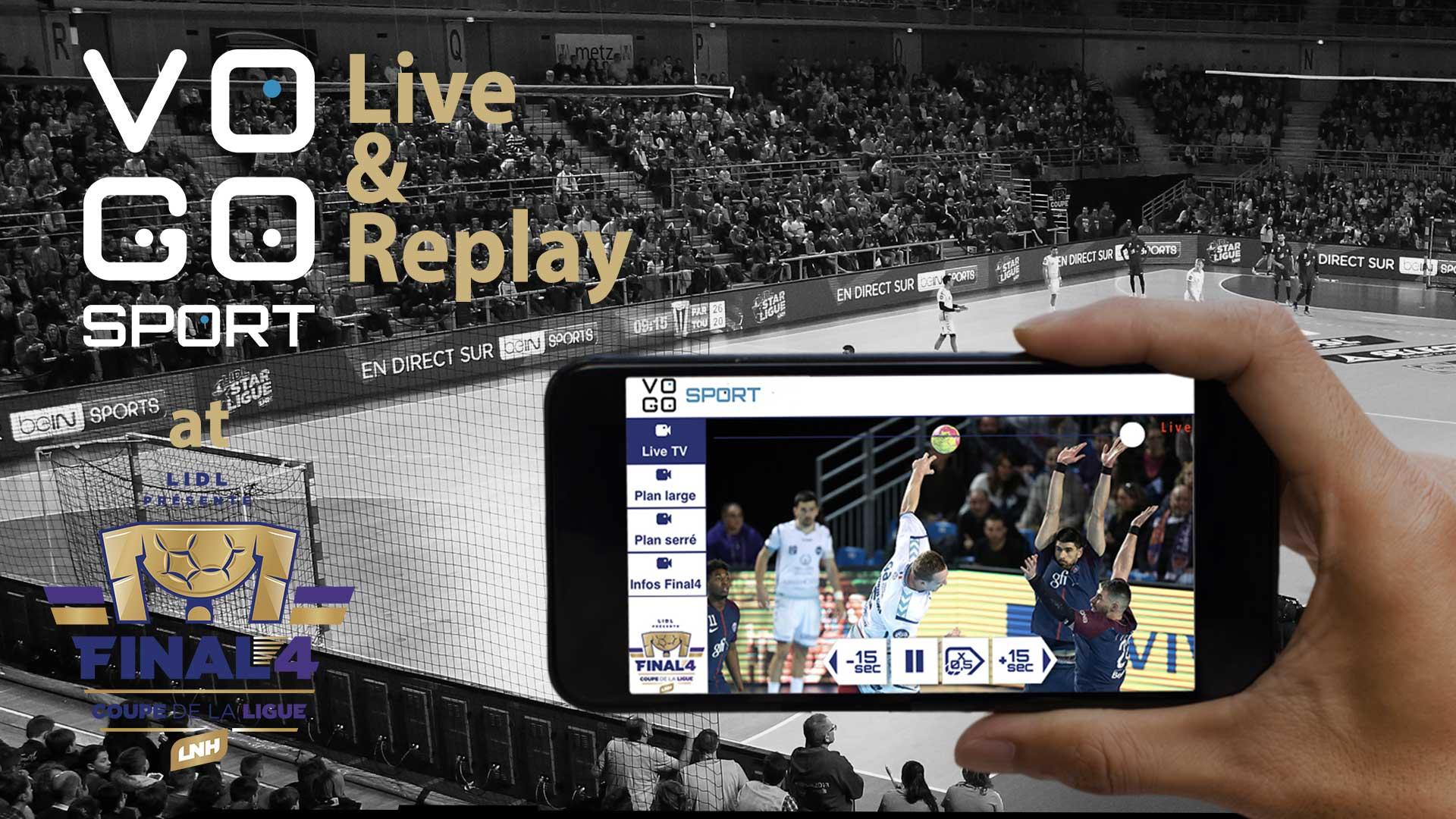 VOGO SPORT au Final4 de Coupe de la Ligue!