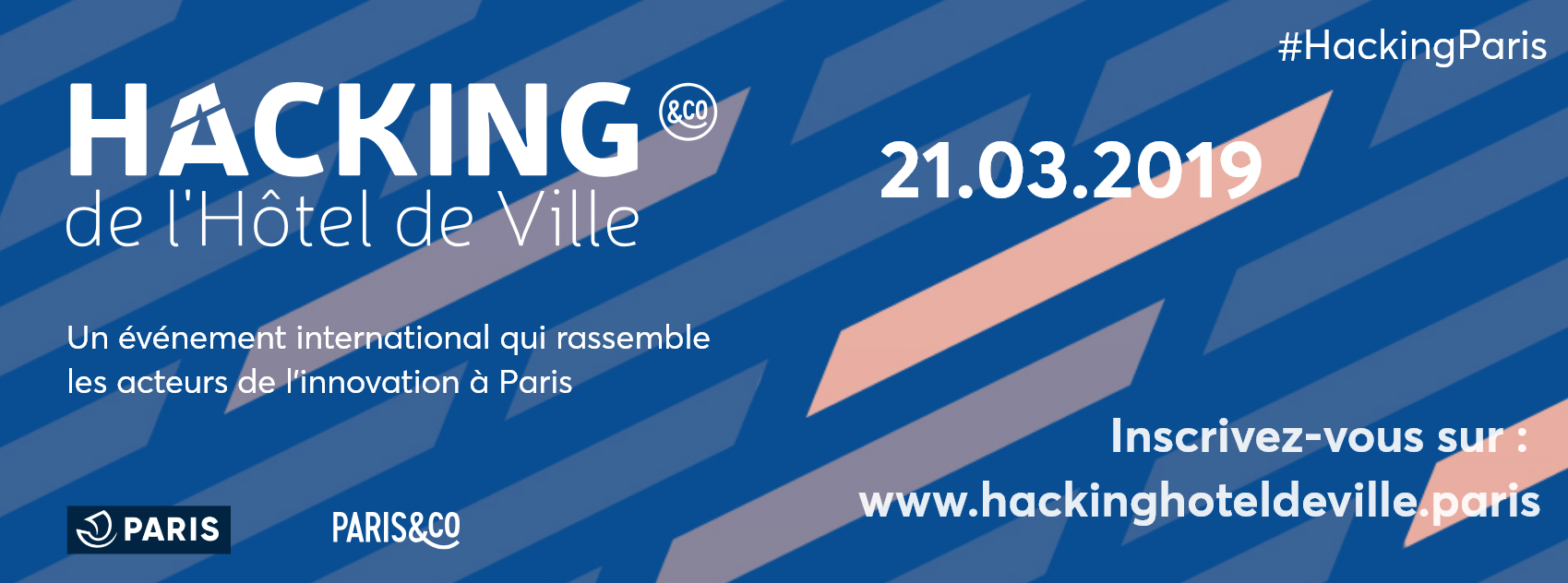 VOGO au HACKING de l'Hôtel de Ville Paris 2019