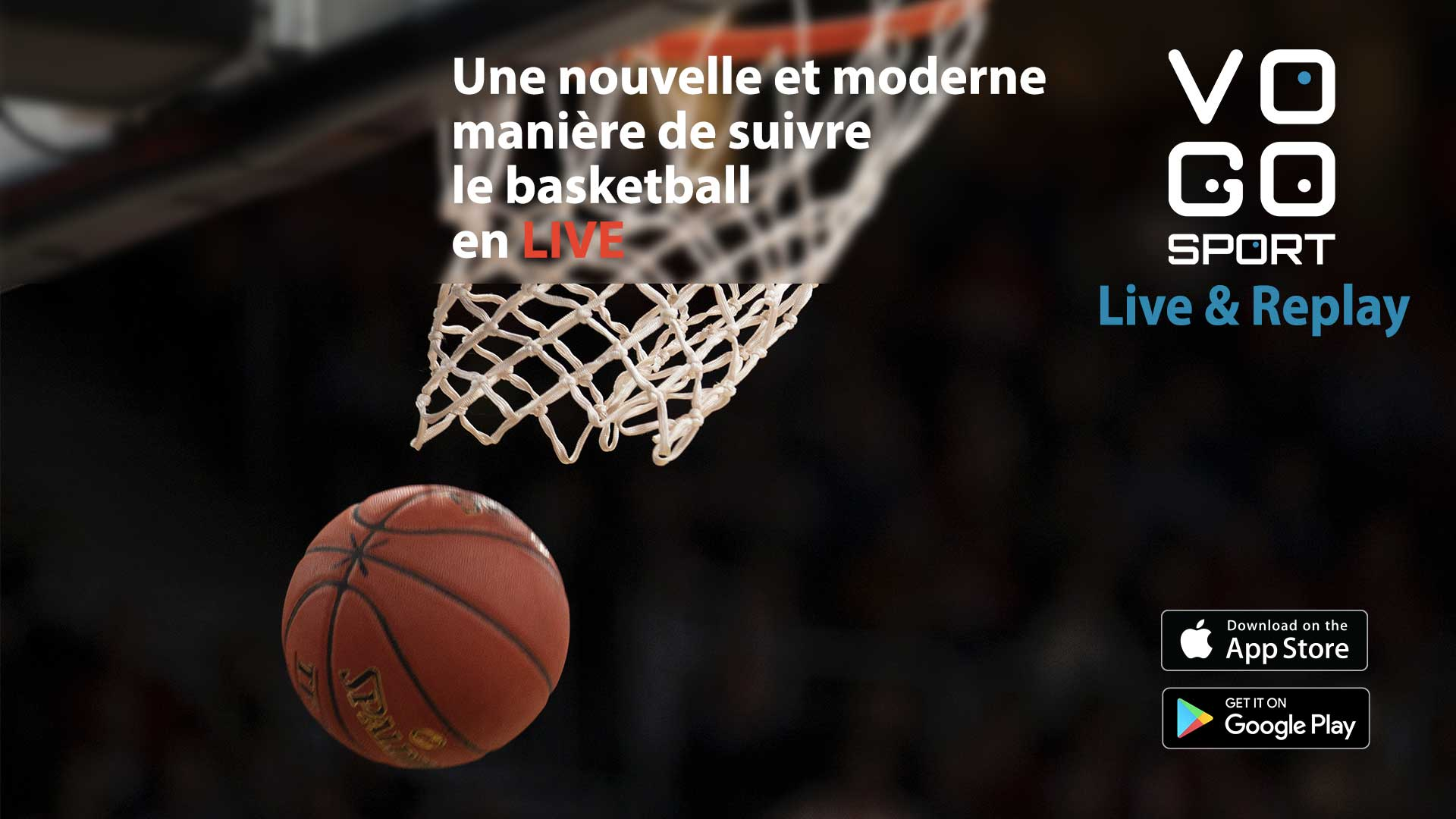 live and replay pour le basketball