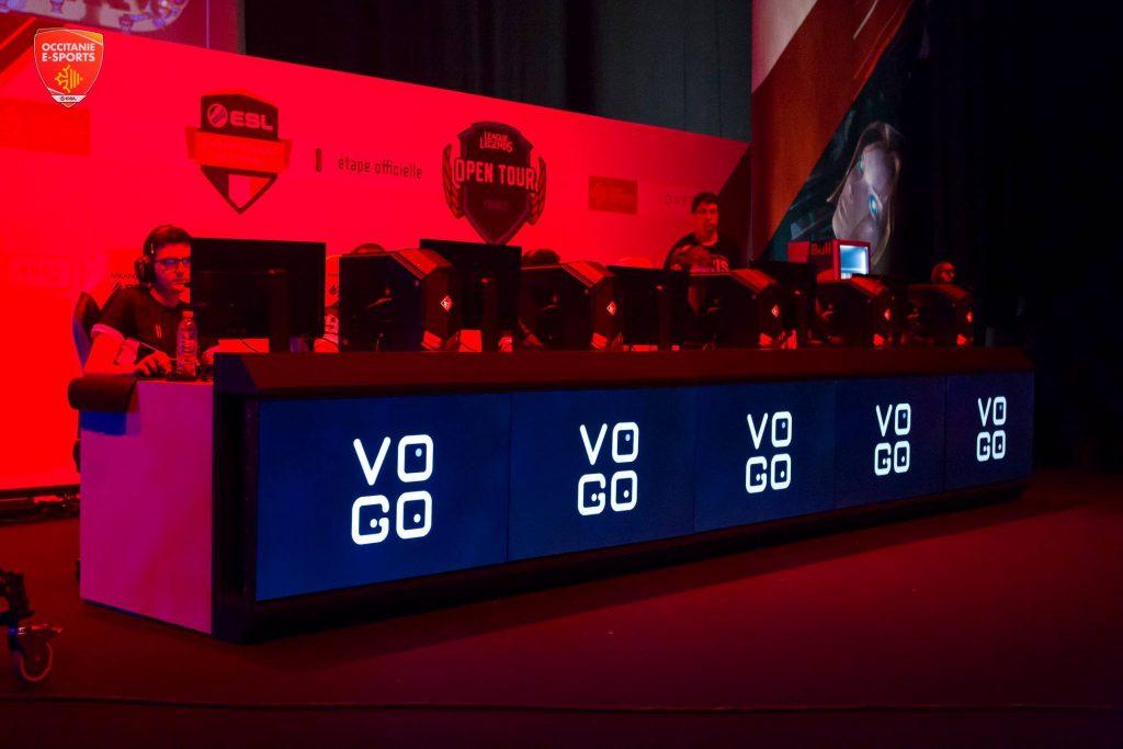 VOGO SPORT partenaire d'Occitanie Esports 2019
