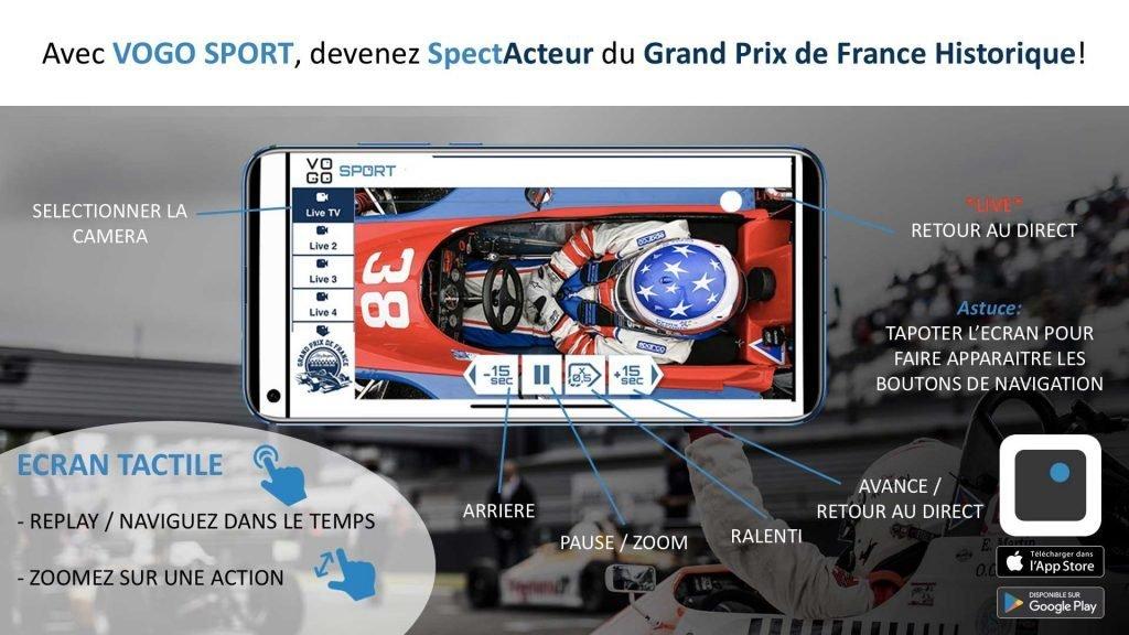 , VOGO au Grand Prix de France Historique 2019