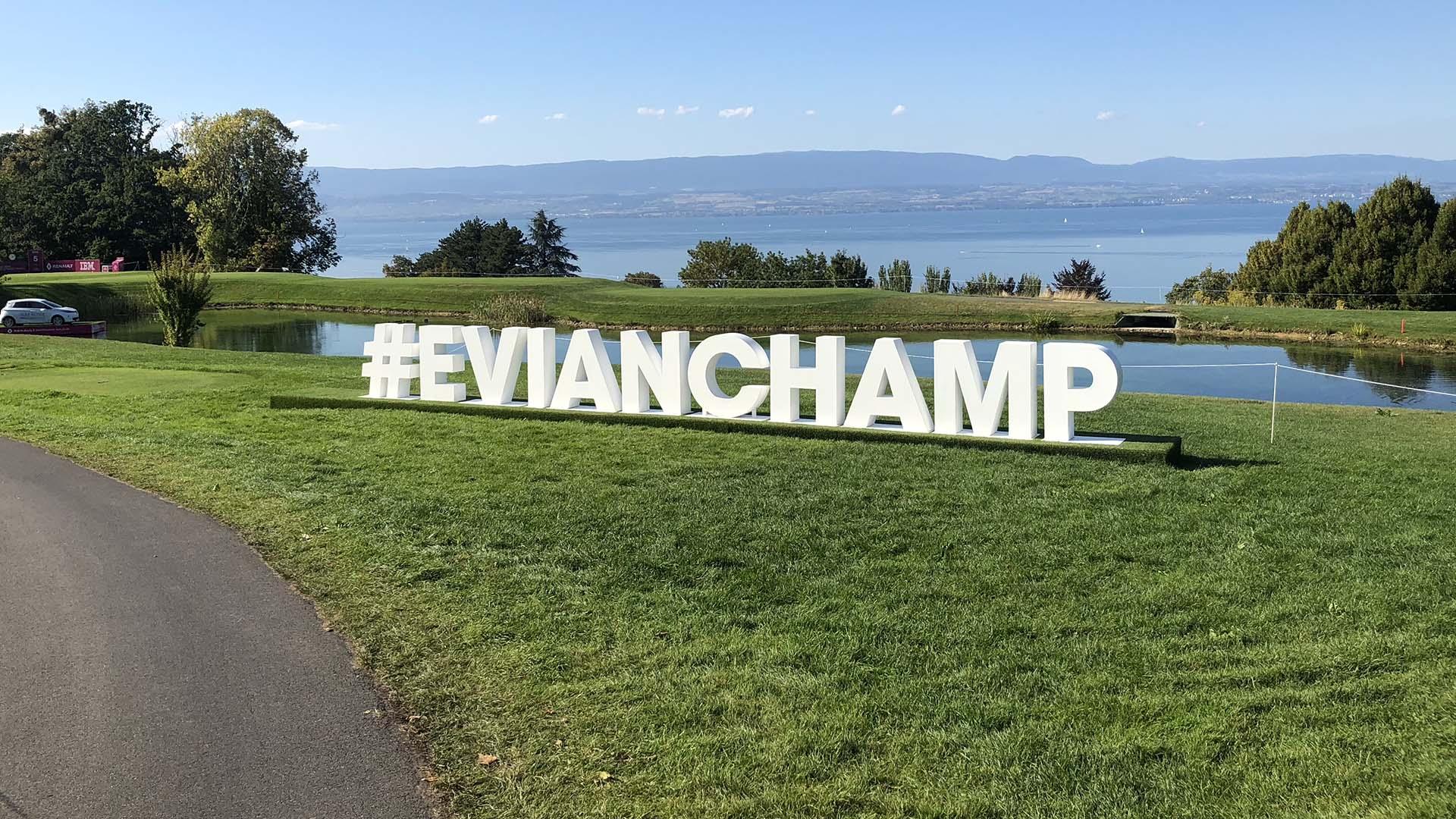 VOGO SPORT : Déjà 4 ans à l'Evian Championship !