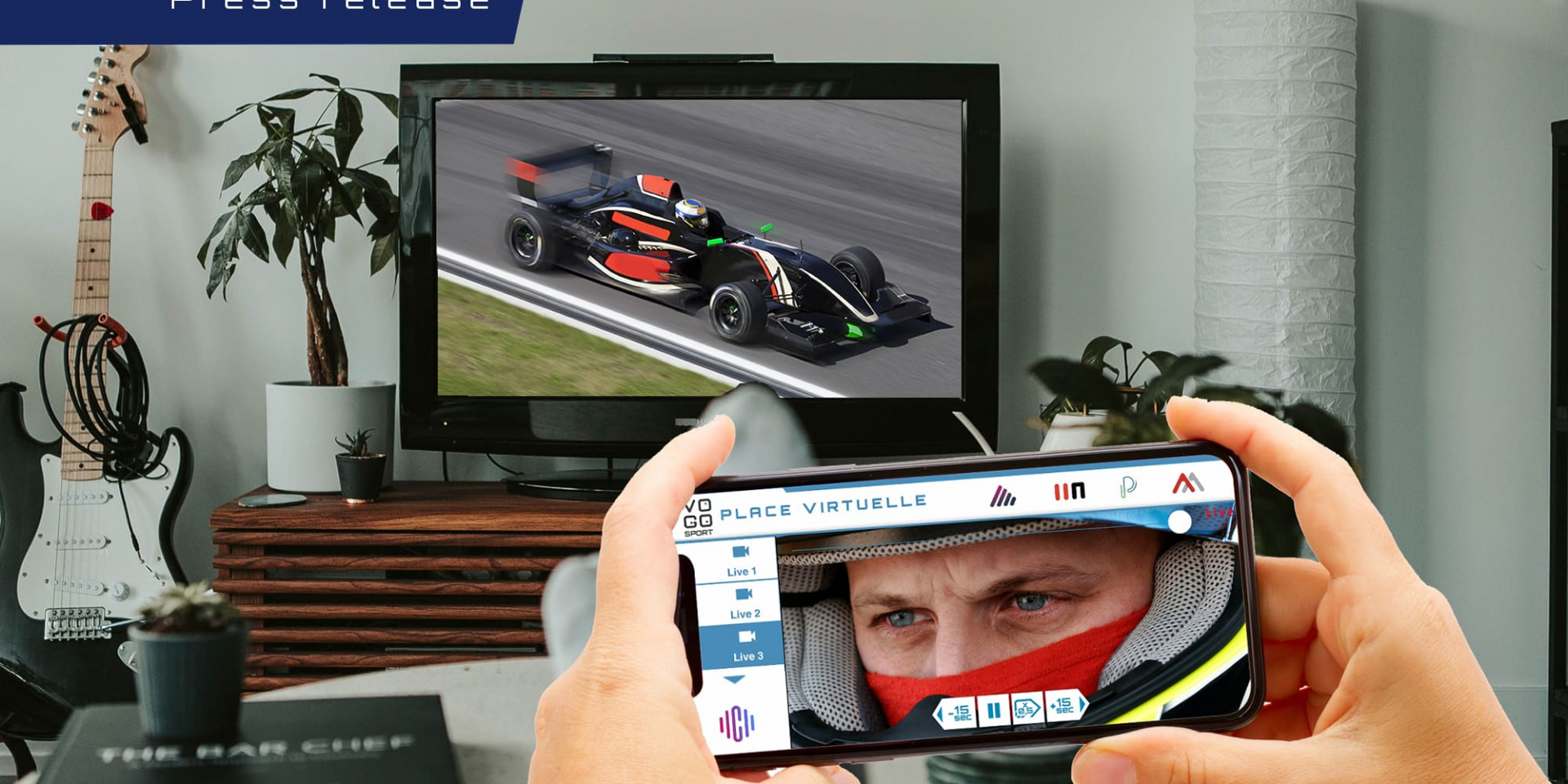 "VOGOSPORT expands its offering with its out-of-venue ""Virtual Seat"" solution"