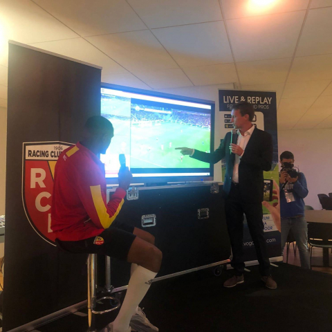 Football club RC Lens integrates VOGOSPORT in its Fan entertainment strategy